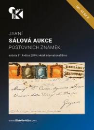 66. jarní aukce poštovních známek