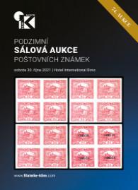74. podzimní aukce poštovních známek